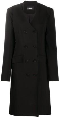Karl Lagerfeld Paris Transformer trench coat
