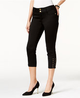 Thalia Sodi Lace-Up Capri Pants, Only at Macy's