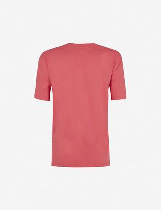 Claudie Pierlot Graphic-print organic cotton T-shirt