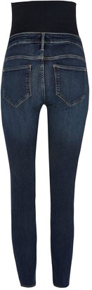 River Island Maternity Over Bump Molly Jegging - Dark Blue
