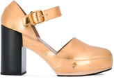 Marni studded shoes - women - Calf Leather/Leather/Foam Rubber - 37
