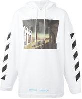 Off-White mirror mirror hoodie - men - Cotton - S