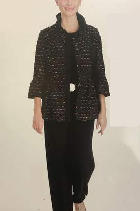 IC Collection Multi Color Laser Cut Jacket