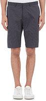 Theory Men's Beck Pinstriped Cotton-Blend Shorts