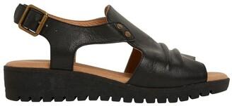 Easy Steps Gelato Black Glove Sandals