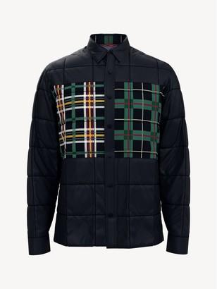 Tommy Hilfiger Essential Plaid Patch Shirt Jacket