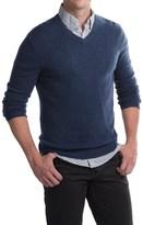 Tahari Basic V-Neck Cashmere Sweater (For Men)