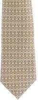 Hermes Silk Anchor Print Tie