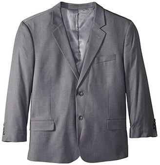 Dockers Big Tall Regular Fit Suit Separate Blazer (Mid Grey) Men's Jacket