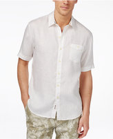 Tommy Bahama Men's Big & Tall Party Breezer Linen Short-Sleeve Shirt