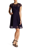 BB Dakota Amberlynn Cap Sleeve Lace Dress