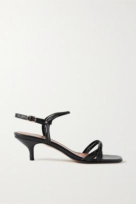 Souliers Martinez Guardamar Leather Sandals - Black