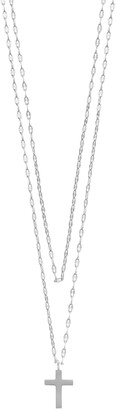 Paige Harper Cross Layered Necklace