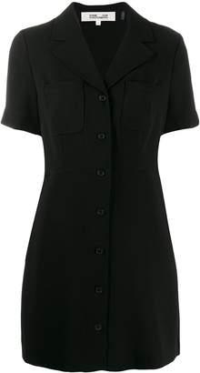 Diane von Furstenberg Rowan button-up mini dress