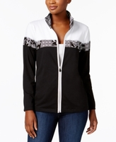 Alfred Dunner Petite Colorblocked Jacket