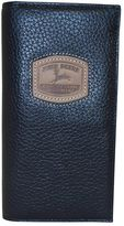 John Deere Leather Checkbook Wallet - Men