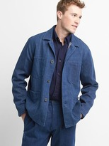 Unisex Khadi denim work jacket