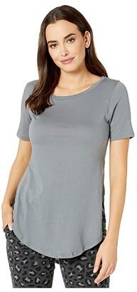 Alternative Organic 1/2 Sleeve Tunic (Earth Ocean) Women's Clothing