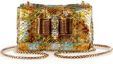 Sweety Charity metallic python mini shoulder bag