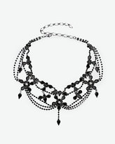 Le Château Gem & Chain Choker Necklace