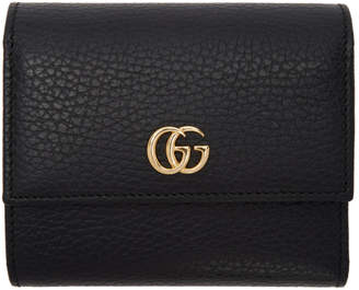 Gucci Black Small Marmont Wallet