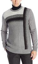Calvin Klein Jeans Men's Vertical Ombre Crew Sweater