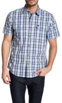 Timberland Short Sleeve Regular Fit Check Shirt