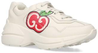 Gucci Kids GG Apple Rhyton Sneakers