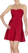 Herve Leger Autumn Novelty Essentials Bandage Dress