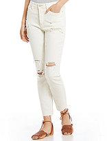 Free People Jean Lacey Stilt Distressed Skinny Jeans