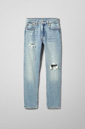 Weekday 501 Skinny Cant Touch This Jeans - Blue
