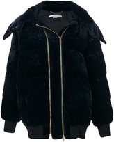 Stella McCartney oversized velvet padded jacket