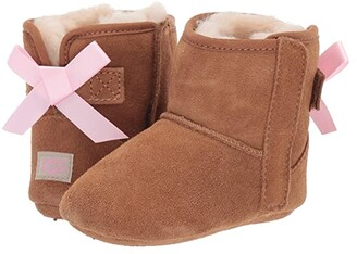 Ugg Kids Jesse Bow II (Infant/Toddler) (Chestnut) Girls Shoes