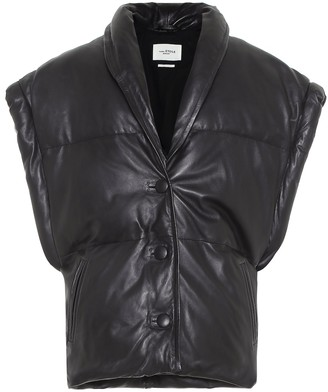 Etoile Isabel Marant Keyson padded leather vest
