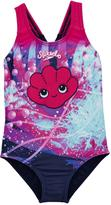 Speedo Toddler Girls Tidal Idol Essentials Applique Swimsuit