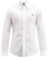 Polo Ralph Lauren Logo-embroidered Button-down Cotton Shirt - Mens - White