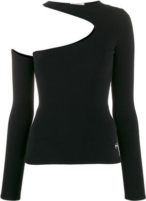 Emilio Pucci Cut Out Detail Knitted Top