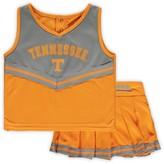 Colosseum Girls Toddler Tennessee Orange Tennessee Volunteers Pinky Cheer Dress
