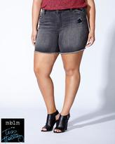 Penningtons Tess Holliday - Grey Distressed Denim Short