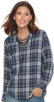 SONOMA Goods for Life Women's SONOMA Goods for LifeTM Lace-Up Shirt