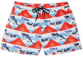 Paul Smith Short-Length Printed Swim Shorts