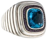 John Hardy Topaz & Iolite Cocktail Ring