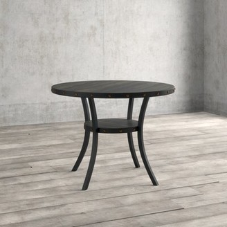 GreyleighTM Crooke Round Wood Counter Height Dining Table Greyleigh
