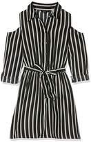 New Look 915 Girl's Stripe Shirt Dress