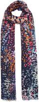Biba Bridget multi leopard print scarf