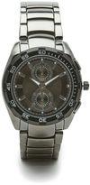 Perry Ellis Gunmetal Bracelet Watch