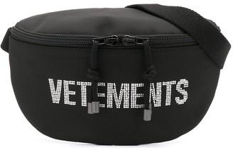 Vetements Logo Embellished Belt Bag