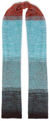Missoni Degrade Crochet-knit Scarf
