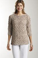J. Jill Tape-yarn pullover