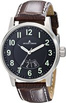 Jacques Lemans Men's 1-1729H Porto Luminous Analog Display Quartz Brown Watch